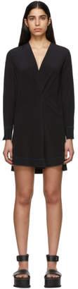 Rag & Bone Black Silk Shields Dress