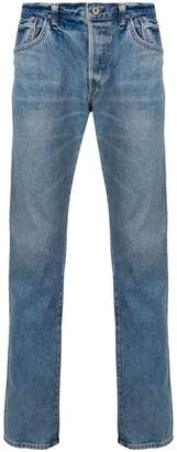 Edwin straight-leg fitted jeans
