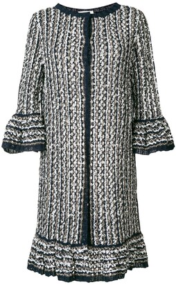 Charlott long knit coat