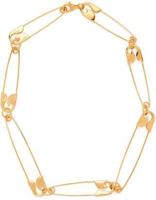 Balenciaga Safety-pin necklace