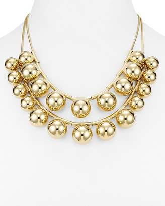 "kate spade new york Two Strand Convertible Bubble Bead Necklace, 20"" $198 thestylecure.com"