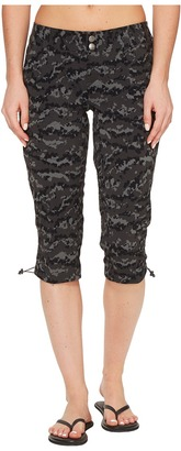 Columbia - Saturday Trail Printed Knee Pants Women's Casual Pants $60 thestylecure.com