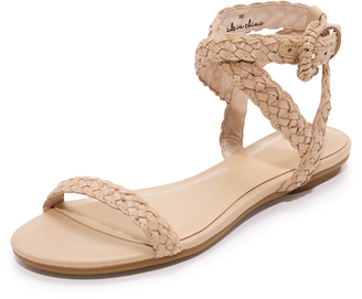 Joie Fadi Flat Sandals $248 thestylecure.com