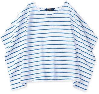 Ralph Lauren Striped Dolman-Sleeve Shirt, Toddler Girls (2T-4T) & Little Girls (2-6X) $55 thestylecure.com