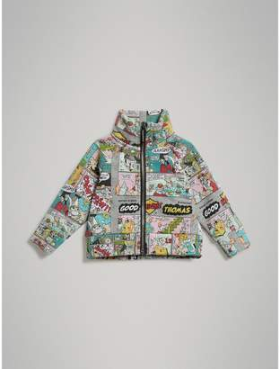 Burberry Childrens Comic Strip Print Cotton Track Top