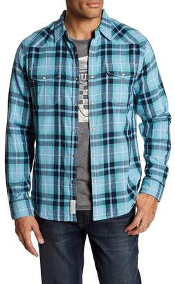 Lucky Brand Western Plaid Slim Fit Shirt