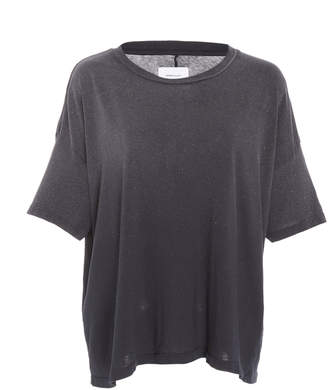 Current/Elliott Roadie Glittered Cotton-Jersey T-Shirt