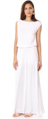 Three Dots Goddess Maxi Dress $168 thestylecure.com