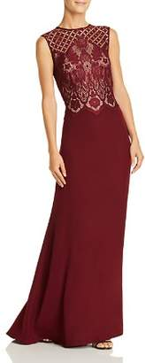 Tadashi Shoji Lace Bodice Gown - 100% Exclusive