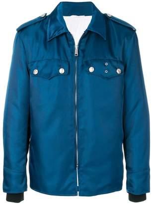 Calvin Klein oversized zipped shirt