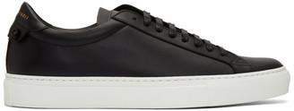 Givenchy Black and White Urban Knots Sneakers