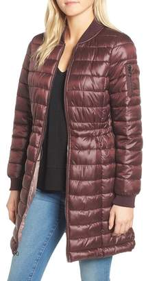 Kenneth Cole New York Quilted Bomber Jacket