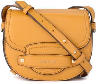 Michael Kors Cary Yellow Leather Shoulder Bag.