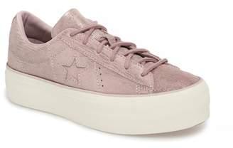 Converse Chuck Taylor(R) All Star(R) Precious Metal Platform Sneaker (Women)