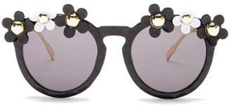 Cara Accessories Women's Daisy Round Sunglasses $29.97 thestylecure.com