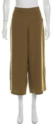 Halston High-Rise Cropped Pants w/ Tags