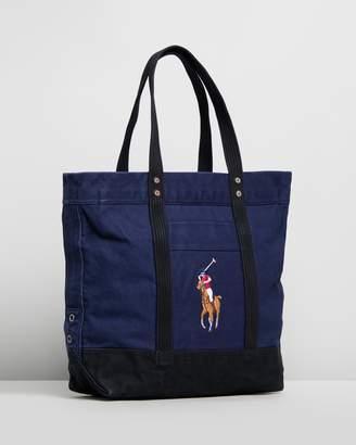 Polo Ralph Lauren Canvas Pony Tote