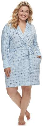 Sonoma Goods For Life Plus Size SONOMA Goods for Life Whisperluxe Robe