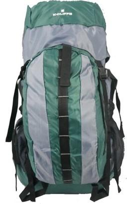 K-Cliffs K Cliffs Hiking Backpack Scout Camping Backpack Large Internal Frame Daypack Travel Pack Bag Green