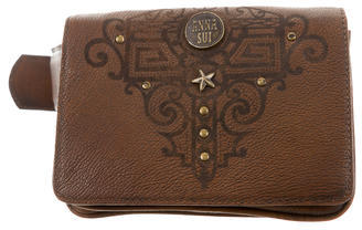 Anna Sui Anna Sui Distressed Leather Waist Bag