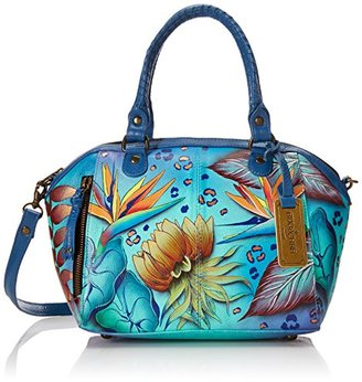 Anuschka Handpainted Leather 561-TRD Mini Convertible Tote $250 thestylecure.com