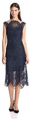 Tracy Reese Women's Back Surplice Dress