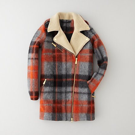 Won Hundred marte plaid coat