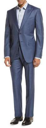 Tom Ford Sharkskin Wool Two-Piece Suit