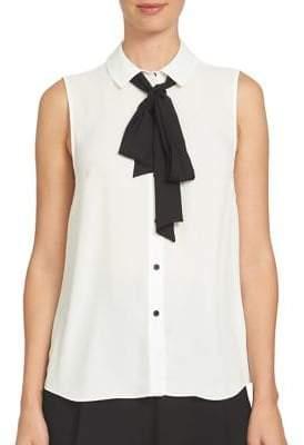 Cece Spread Collar Blouse