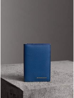 Burberry Leather Folding Card Case