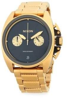 Nixon Stainless Steel Textured Bracelet Watch