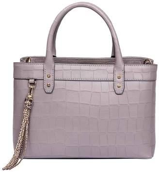 Borbonese Small Leather Handbag