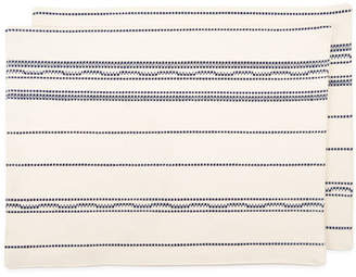 Amana Shops Raised Warp Cotton Placemat (Set of 2)