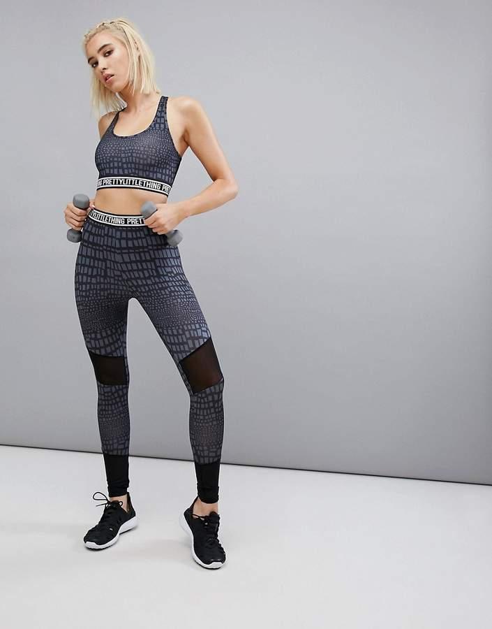 – Bedruckte Sport-Leggings