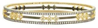 Freida Rothman Rose d'Or 3-Stack Bracelets