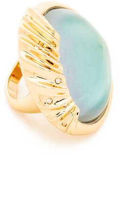 Alexis Bittar Sculptural Sphere Cocktail Ring $175 thestylecure.com