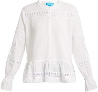 MiH Jeans Romney macramé lace shirt