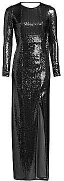 Galvan Women's Adela Sequined Scoop Back Gown