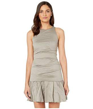 Nicole Miller Ruffle Hem Dress