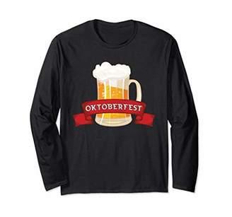 Oktoberfest Long Sleeve Funny Drinking Beer German