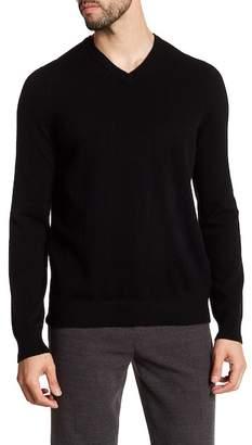 Vince V-Neck Long Sleeve Cashmere Sweater