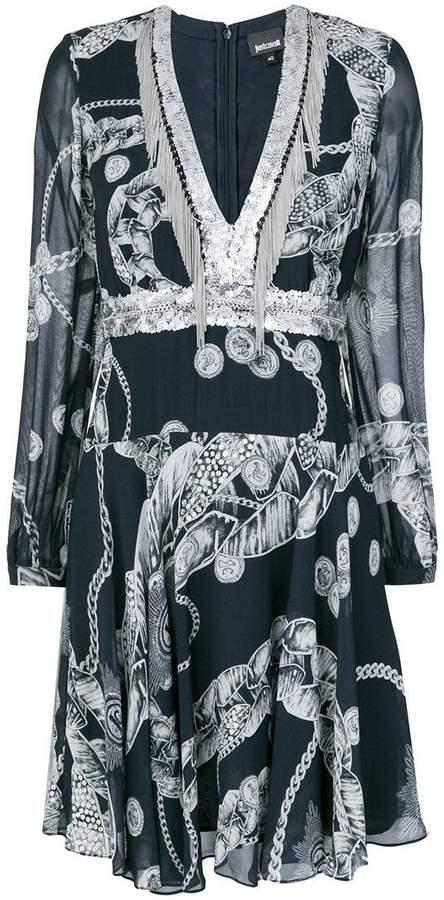 Chain Reaction short dress