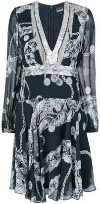 Just Cavalli Chain Reaction short dress