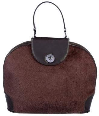 Renaud Pellegrino Ponyhair Handle Bag