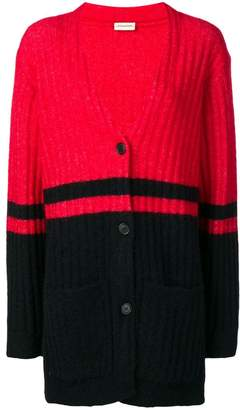 By Malene Birger colour-block ribbed cardigan