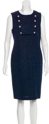 Karl Lagerfeld Tweed Sheath Dress w/ Tags