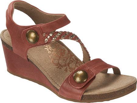 AetrexWomen's Aetrex Naya Braid Wedge Sandal