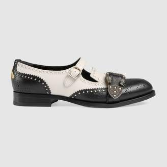 Gucci Queercore brogue monk shoe