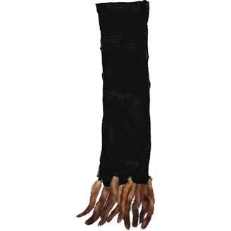 Versace Black Wool Scarves