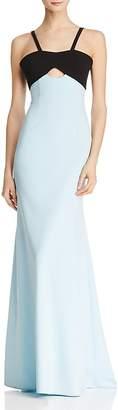 Jill Stuart Color-Block Mermaid Gown
